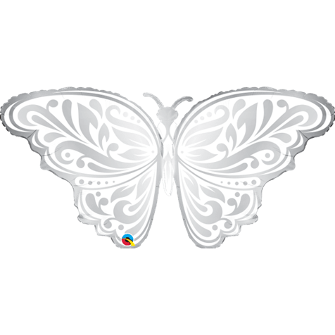 Silver and Pearl Butterfly Supershape