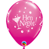 additional image for Hen Night Wild Berry 6pk with Helium
