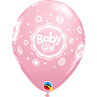 additional image for Baby Girl Dots Pink 6pk