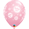 additional image for Baby Girl Dots Pink 6pk with Helium