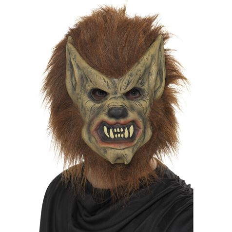Brown Werewolf Mask