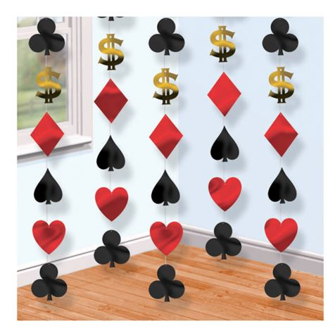 Casino String Decorations