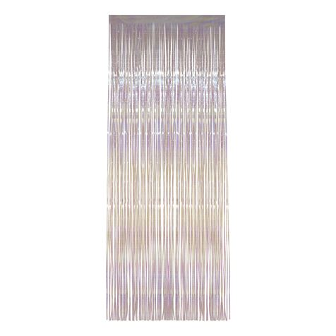 Irridescent Shimmer Curtain