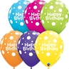 additional image for Happy Birthday Polka Dots Tropical 6pk