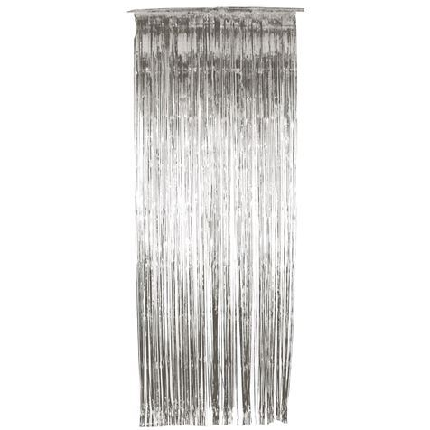 Silver Shimmer Curtain