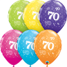 additional image for Age 70 Tropical 6pk with Helium