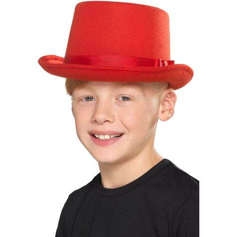 Kids Red Top Hat
