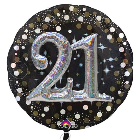 3D Sparkling Birthday 21