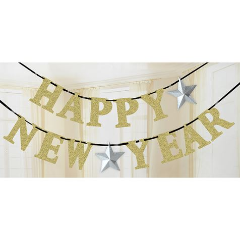 New Year Letter Banner