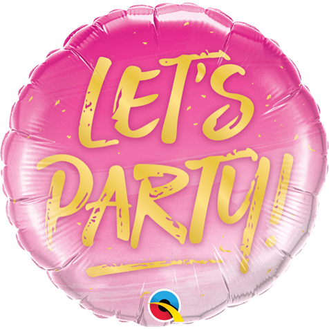 Let's Party! Balloon