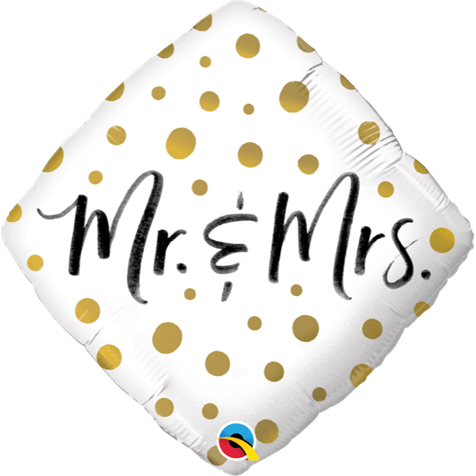 Mr & Mrs Dots Foil
