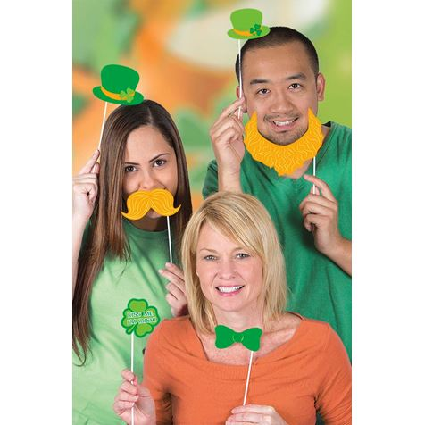 St Partick's Day Photo Booth Props