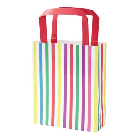 Stripe Party Boxes 8pk