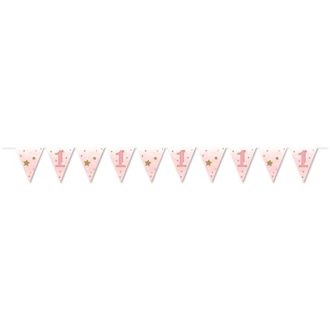 Pink Flag Bunting