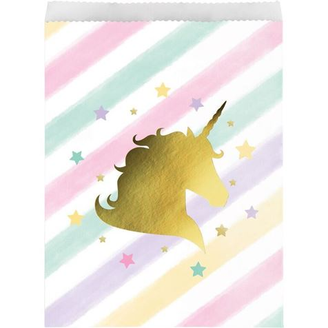 Unicorn Sparkle paper treat bg