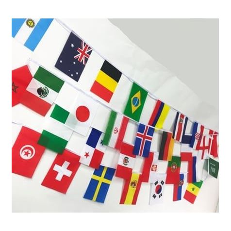 World Cup 2018, 32 Team Bunting