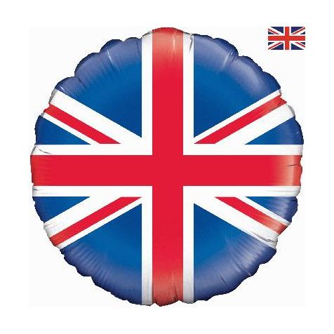 Union Jack Foil Inflated