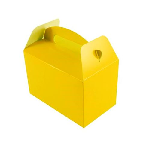 Yellow Party Boxes 6pk