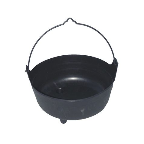 Life-sized Witch's Cauldron