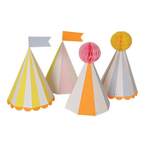 Silly Circus Hats 8pk