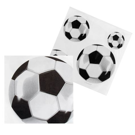Football Napkins 12pk