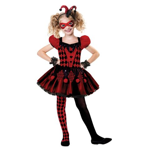 Harlequin Cutie Child's Costume