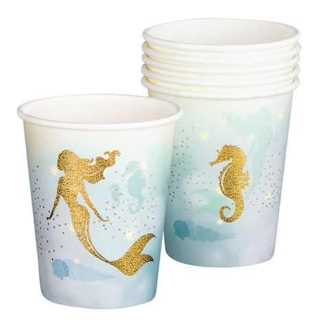 Mermaid Cups 6pk
