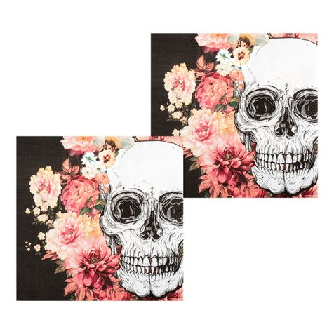 Day Of The Dead Napkins 12pk