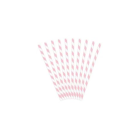 Paper Straws Light Pink