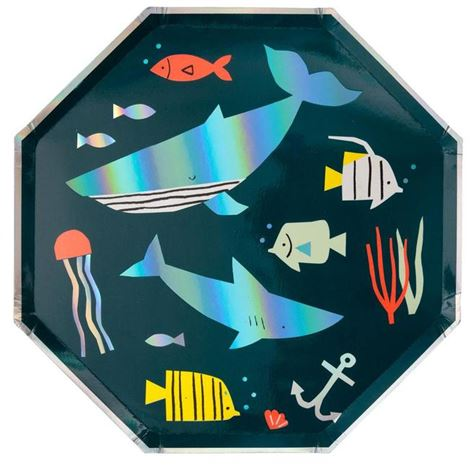 Under-The-Sea Plates 8pk