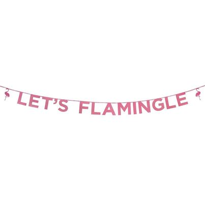 Talking Tables Flamingo Banner