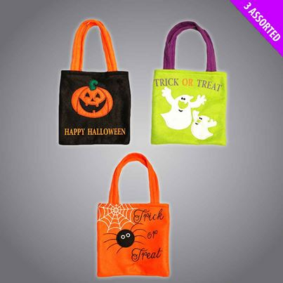 Davies Felt Trick-or-Treat Bags
