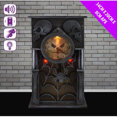 Animated Haunted Clock