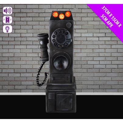 Animated Haunted Telephone