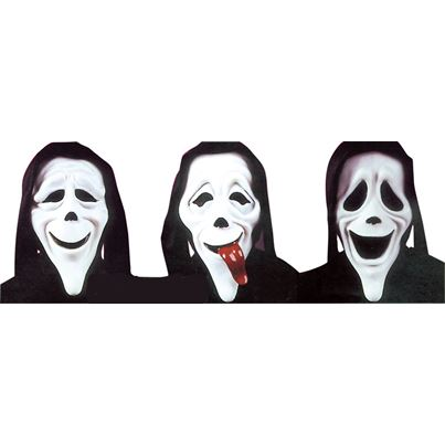 Palmer Scary Movie Masks Assorted
