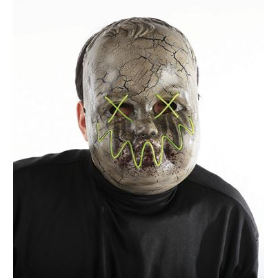 Precious Adult Mask W/EL Wire