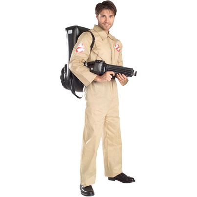 Rubies Ghostbusters Costume with Inflatable Backpack