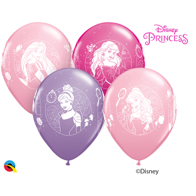 Disney Princesses 6pk UNINFLATED