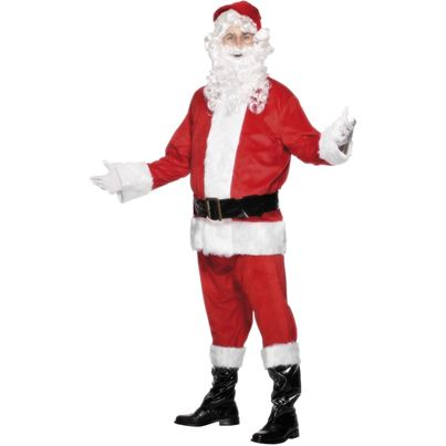 Deluxe Santa Costume with Beard