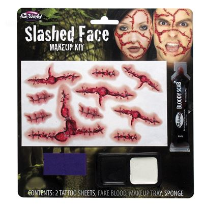 Palmer Slashed Face Makeup Kit