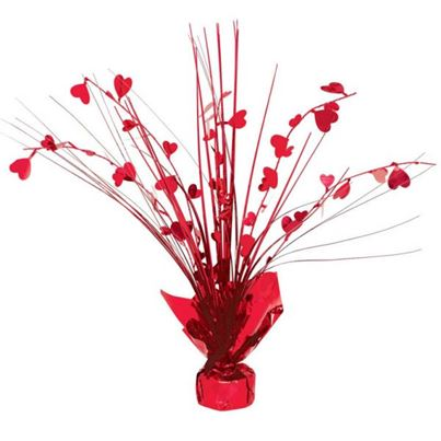 Valentines Heart Spray Centrepiece