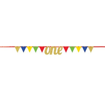 Creative Party MultiColour Pennant Banner