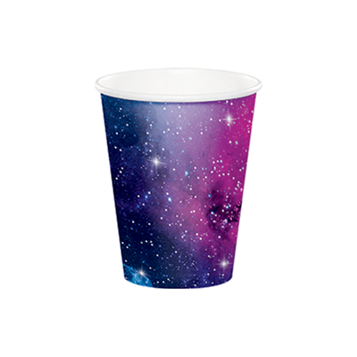 PartyDeco Galaxy Paper Cups 8pk