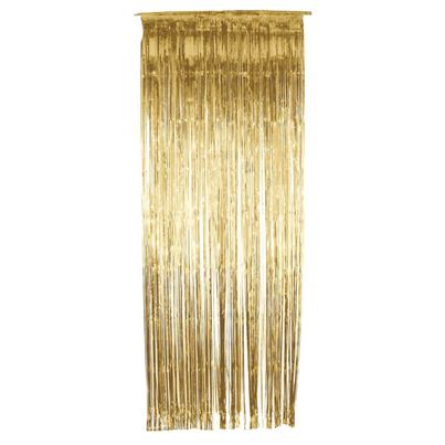Smiffys Gold Shimmer Curtain