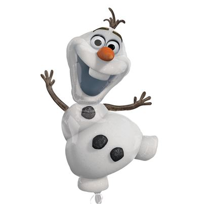 Amscan Frozen Olaf Supershape Foil