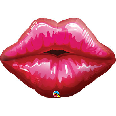 Qualatex Kissy Lips Supershape