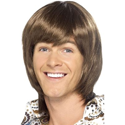 Smiffys 70's Heartthrob Wig