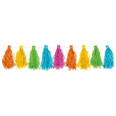 Amscan Multi Colour Tassel Garland