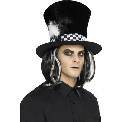 Dark Tea Party Top Hat
