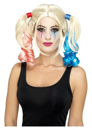 Twisted Harlequin Wig